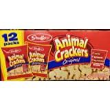 Stauffer's Animal Crackers Original, 1.5 oz (pack of 12), Net Weight 18 Oz