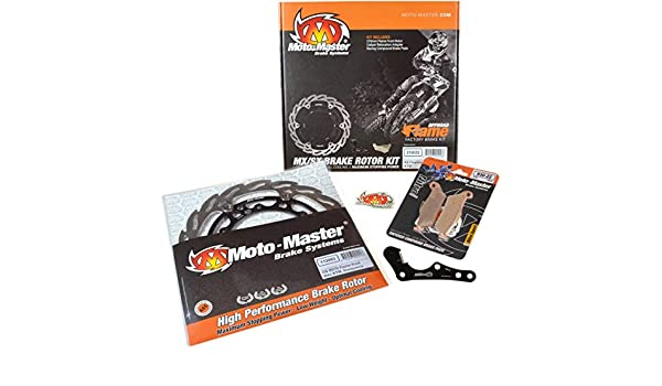Amazon.com: Moto-Master 310021 270MM Flame Rotor/Brake Pad Kit: Automotive