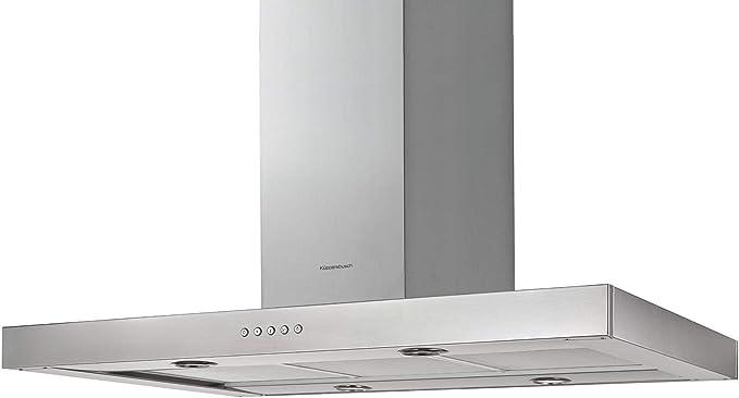 Küppersbusch IKD 9480.0 E K-SERIES.3 - Campana extractora (acero inoxidable, 90 cm): Amazon.es: Grandes electrodomésticos