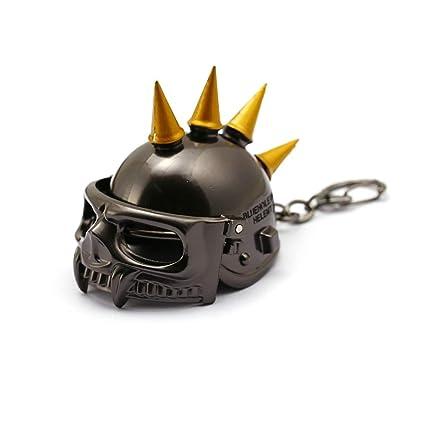 PUBG Openable Keychain Keyring Battlegrounds Keychain Helmet ...