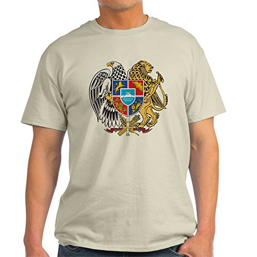 - CafePress Armenia Coat Of Arms Ash Grey T-Shirt - 100% Cotton T-Shirt