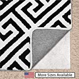 Gorilla Grip Original Area Rug Gripper Pad for Carpeted Floors, Made in USA, Size (5' x 8'), Available in Many Sizes, Pads Provide Thick Cushion Under Rugs Over Carpet