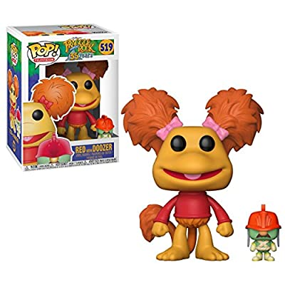 Funko Pop! Television: Fraggle Rock - Red with Doozer Collectible Toy: Funko Pop! Television:: Toys & Games
