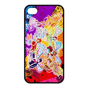FashionFollower Design Comics Series Winx Club Fantastic Phone Case Suitable For iphone4/4s IP4WN42707 by ruishername