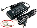 iTEKIRO 90W AC Adapter Charger for Acer Aspire V3-572PG, V3-572PG-50X5, V3-572PG-767J, V3-731, V3-731-4439, V3-731-4446, V3-731-4473, V3-731-4634, V3-731-4649, V3-731-4695, V3-771, V3-771-6470, V3-771-6605, V3-771-6683, V3-771-6833 + 10-in-1 USB Charging Cable