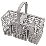 Spares2go 45cm Long Slim Cutlery Basket Cage for Hotpoint Dishwashers