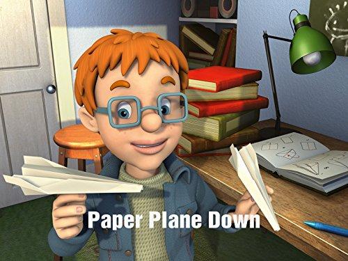 Paper Plane Down