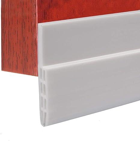 Autoadhesivo para Desmontar Puerta Tira de Goma de Puerta 100cm Burlete para Hueco de Ventana o Puerta (Blanco): Amazon.es: Bricolaje y herramientas