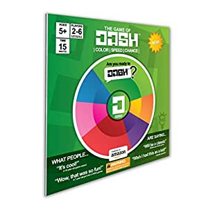 Dash - Not Your Typical Board or Card Game - Instant Classic - Family Game - Includes use of: Strategy, Sequencing, Colors, Speed, and Chance. Easy To Learn, Hard To Master. Are You Ready to Dash?