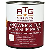 RTG Shower & Tub Non-Slip Paint (Quart, White)