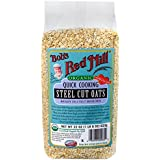Bob's Red Mill Organic Quick Cook Steel Cut Oats, 22-Ounce