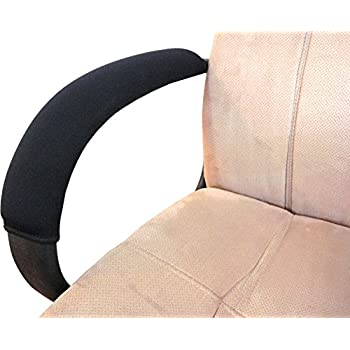 This Item Soft Neoprene Chair Armrest Covers (Complete 2 Piece Set)