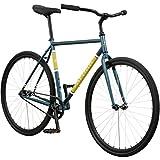 Cheap Pure Cycles 1-Speed Urban Coaster Bicycle, 54cm/Medium, Turcana Blue