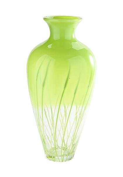 Amazon New 19 Hand Blown Glass Murano Art Style Teardrop Vase