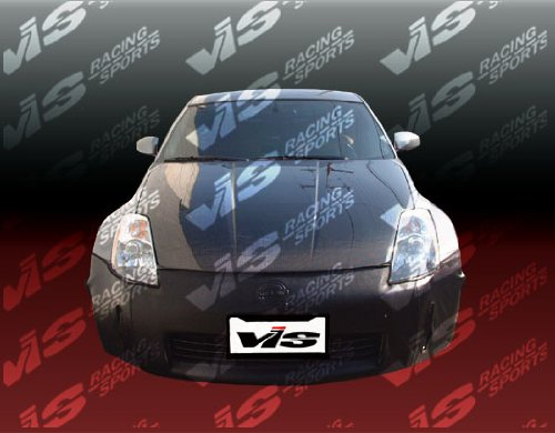 VIS 03-06 350Z/Fairlady Z Carbon Fiber Hood OEM 04/05 ()