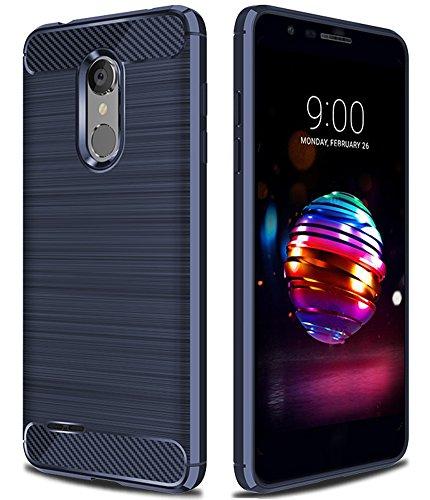 LG K30 Case,LG K10 2018 Case,LG Phoenix Plus Case,LG Premier Pro Case,LG Harmony 2 Case,LG X4 Plus Case,Asmart Shock Absorption LG K30 Phone Case Slim Flexible Cover TPU Bumper Protective Case, Blue