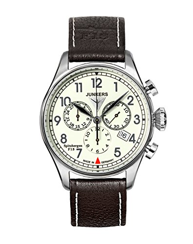 Junkers Spitzbergen F13 Chronograph with Luminous Dial 6186-5