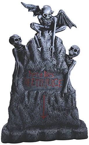 Rubies Costume Company Beetlejuice Tombstone Decor, Large by Rubie's