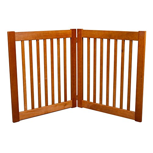 Dynamic Accents 27 in. 2 Panel Free Standing EZ Gate - Artisan by Dynamic Accents