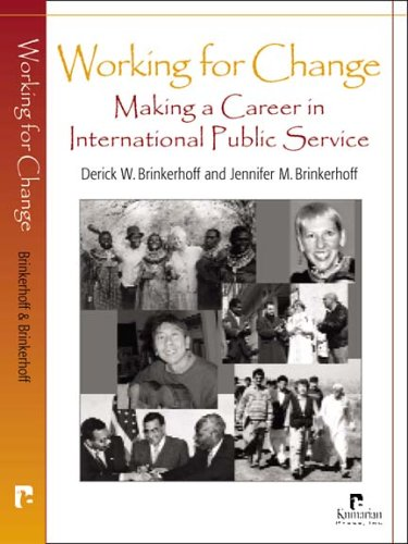 Working for Change: Making a Career in International Public Service