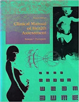 Book Clinical Manual of Health Assessment, 4e