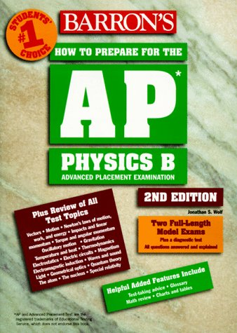 How to Prepare for the Advanced Placement Exam (Barron's How to Prepare for the Advanced Placement Examination. Physics