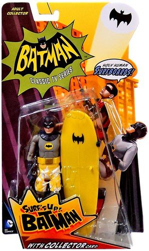 Batman Classic TV Series Surfs Up Batman Collector Action Fi