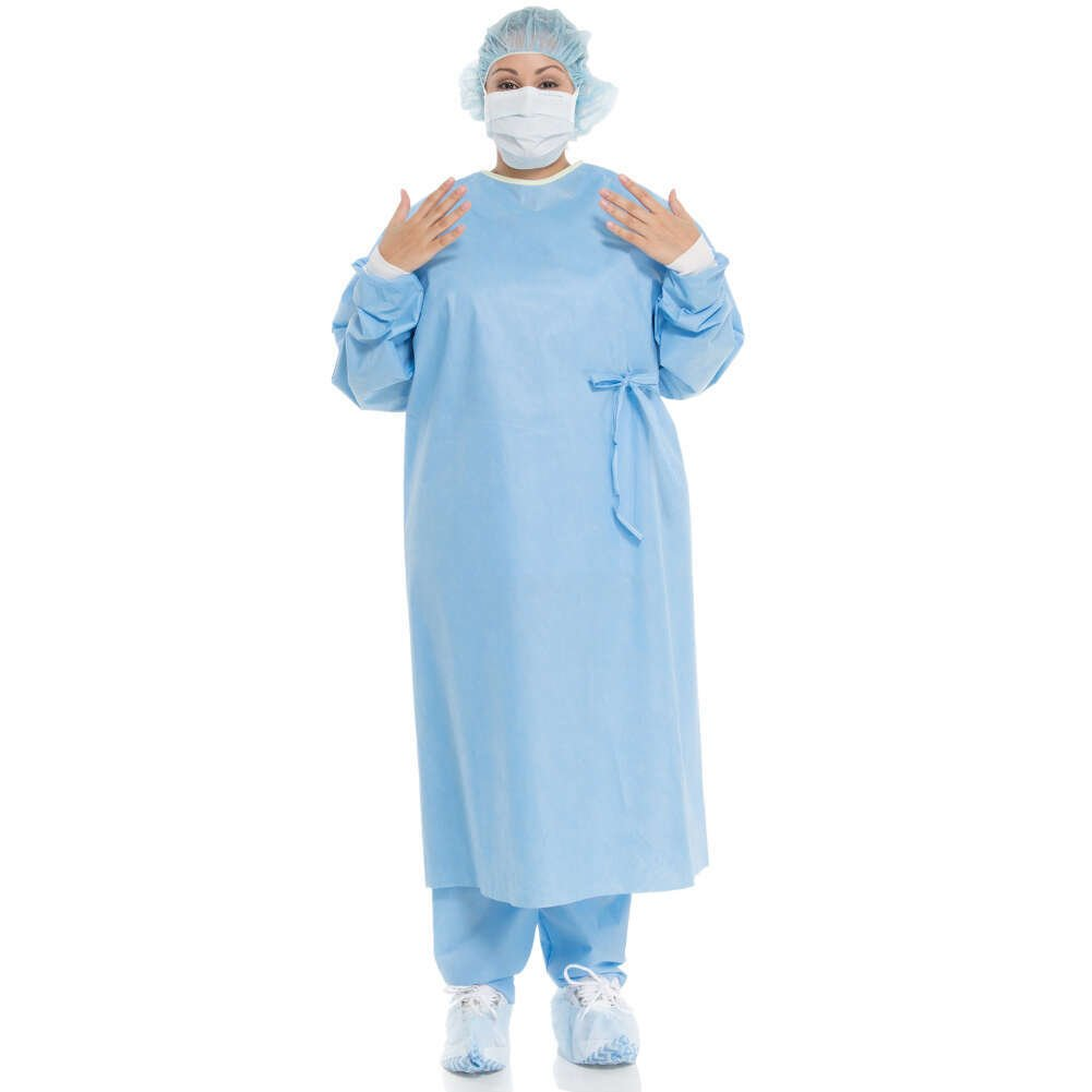 Halyard Health 95011 Evolution 4 Standard Non-Reinforced Surgical Gown, Drop Fold, Sterile, Large (Case of 32)