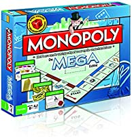 Monopoly Mega Editie NL - Bordspel - Mega snel, mega groot en word mega rijk in deze mega editie van Monopoly! - Voor de...