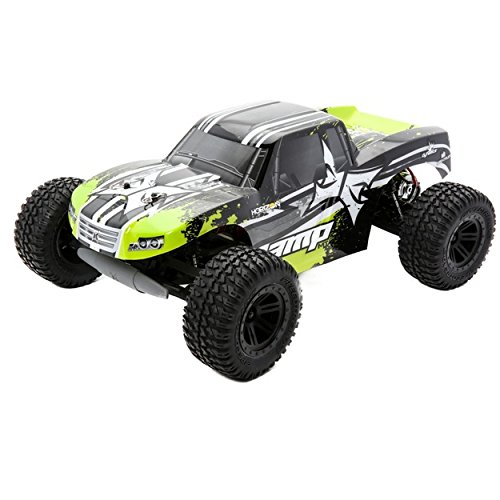 ECX AMP MT 1:10 2WD Monster Truck: Black/Green - Horizon Hobby