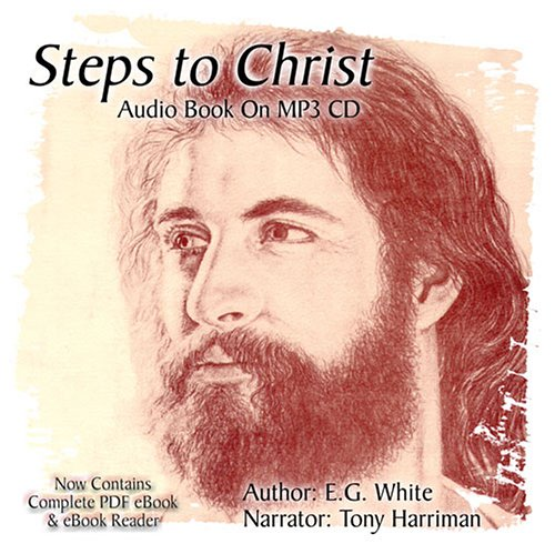 Steps to Christ Audiobook on MP3 CD