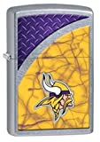 Latest 2016 Style Personalized Zippo Lighter NFL - Free Laser Engraving … (MINNESOTA VIKINGS)