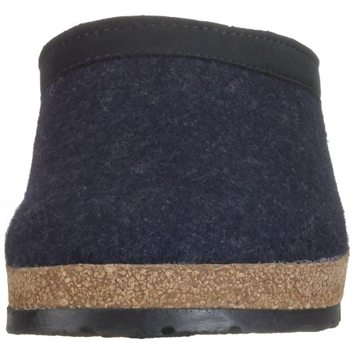 Unisex Clog Leather Trim Blue Captains GZL Grizzly Haflinger pPa1qTw1
