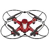 Riviera RC Nano Cam HD Quadcopters, Red