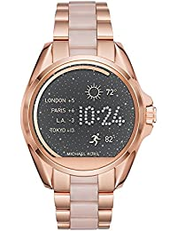 Access, Women's Smartwatch, Bradshaw Rose Gold-Tone and Blush Stainless Steel, MKT5013