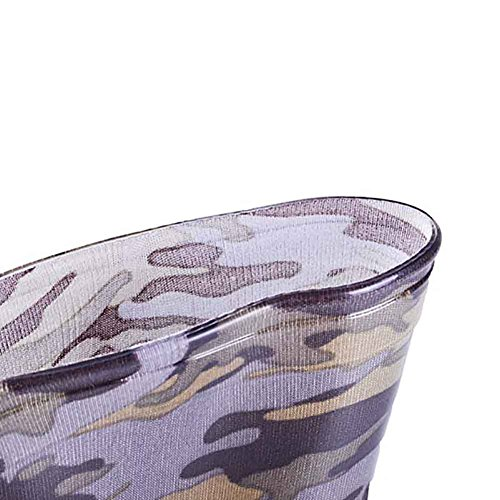 Pictures of VICVIK Children Camouflage Rain Boots Kids Lightweight 3