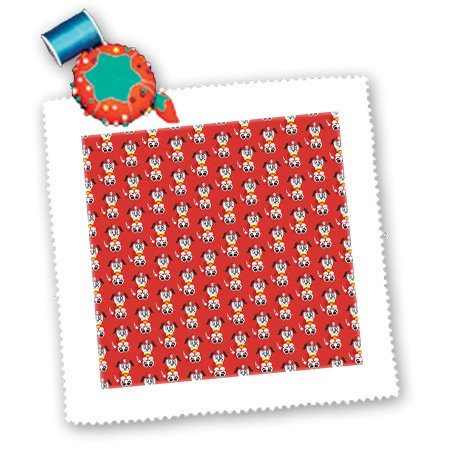 Anne Marie Baugh - Patterns - Cute Firehouse Dogs Pattern - 14x14 inch quilt square (qs_210900_5)