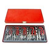 CO-Z 131pc M5 M6 M8 M10 M12 Stripped Helicoil Thread Repair Kit Set Heil Coil ReThread Repair Kit