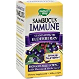 Cheap Natures Way Sambucus Immune Lozenges – Natural Winter Remedy – Black Elderberry Extract – 30 Lozenges