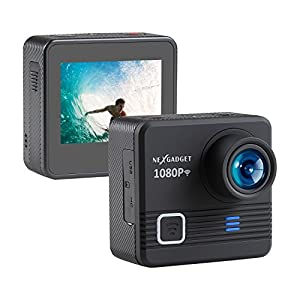 NEXGAGDET WIFI Action Camera, DISCOVER-655 SERIES 14MP 1080P Waterproof Sports Camera 170 Degree Ultra Wide-Angle Lens, 2 Pcs Rechargeable Batteries