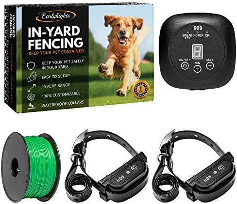 Suitable for Small H&B Luxuries Electric Dog Fence with 984 Feet ...