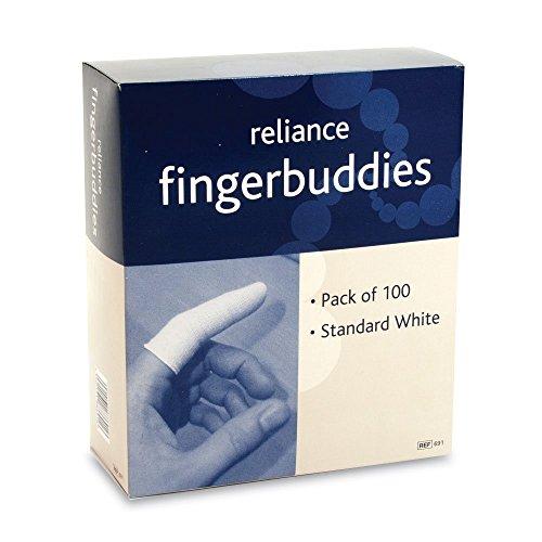 Reliance 691 Reliform Finger Bandage Wrap - Box of 100 , ...