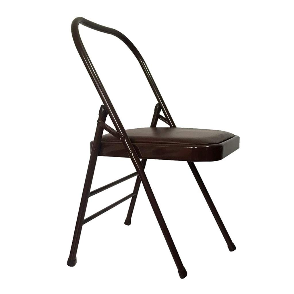 Sports Fitness Yoga Chair Folding Chair Fitness Chair Stool Home Folding Aids Bold Stool Iyengar Folding Chair Outdoor Fishing Chair (Load Weight: 150kg) Exercise Ball Chairs