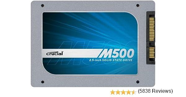Crucial M500 - Disco Duro sólido Interno SSD de 120 GB (Serial ATA ...
