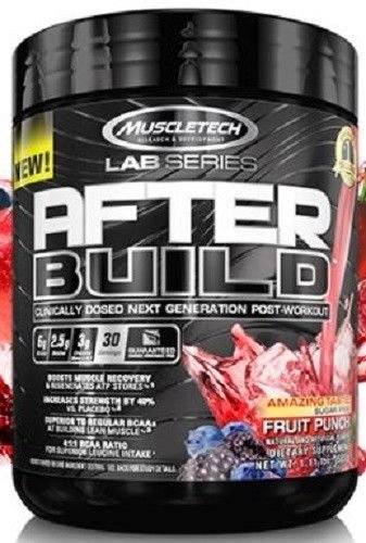 Muscletech Lab Series After Build Fruit Punch, 30 Servings