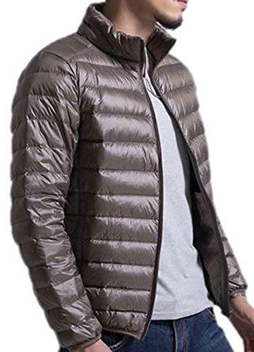 Di Verde Eku Caldo Militare Cappotto Inverno Solido Xs Piumini Leggeri Mens BxqgqE4wS