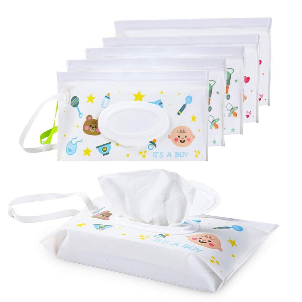 Baby Wipes Travel Case Wet Kids Box Wechselnde Dispenser Home Use Storage YY