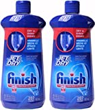 Finish Jet-Dry Rinse Agent For Dishwasher, 21 Ounce, (Pack of 2)
