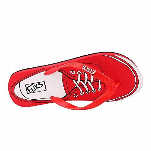Ben Sports Zapatillas Sandalias deportivas chanclas Para Hombre rojo