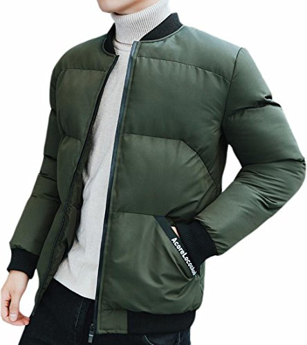 Oggi Imbottito Piumino Caldo 1 uk Cappotto Puffer Mens Outwear Inverno TqxafwXTr